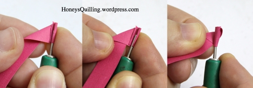 paper quilled rose