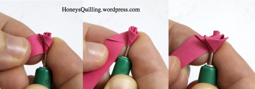 paper quilling rose tutorial