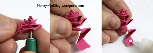 paper quilling rose