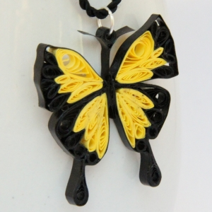 Bfly pendant yellow 1
