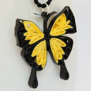 Bfly pendant yellow 1