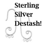 Destash of Sterling Silver Findings