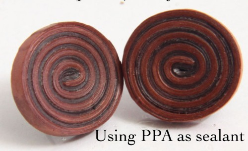 How to use PPA (Perfect Paper Adhesive) as a Sealant for Paper Quilled Jewelry